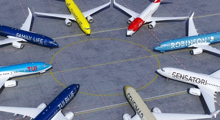 Aviones de TUI Group Foto TUI
