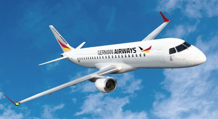 Avión de German Airways