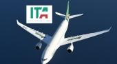 La nueva Alitalia corta sus vuelos con Argentina y cancela las reservas posteriores a octubre. Logo ITA (alitalia.com)