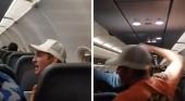 Un pasajero de Frontier, atado con cinta adhesiva a su asiento por abusar de dos sobrecargos