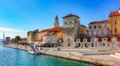 Centro histórico de Trogir, Croacia.