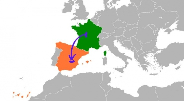 España, el refugio de los franceses que huyen del certificado sanitario obligatorio. Foto de Wikimedia Commons (CC BY SA 3.0).