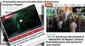 Baleares incrementa la seguridad mientras la prensa británica informa del caos con los botellones