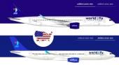 World2Fly (Iberostar) obtiene los permisos para volar desde Estados Unidos. Foto de w2fly.es