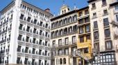 Los hoteles de Pamplona, prácticamente llenos durante estos días   Foto: Zarateman