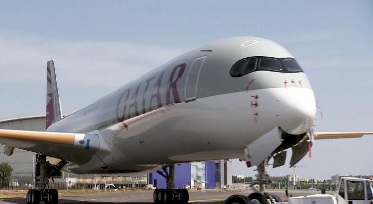 Airbus A350 1000 de Qatar Airways Foto Qatar Airways