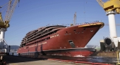 Ritz vende su astillero español y quiere llevarse el 'Evrima' al extranjero | Foto: Hijos de J. Barreras