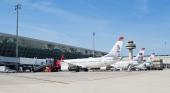 Los aeropuertos de Baleares registran una actividad similar a la de antes de la pandemia