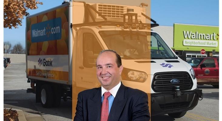 El nuevo reto del transporte de mercancías sin conductor | Foto: Gatik vehículo autónomo