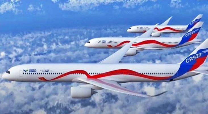 China y Rusia se unen para competir contra Boeing y Airbus. Foto de aviacionaldia.com