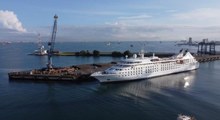 Llegada delStar Breezea Panamá |Foto: Windstar Cruises