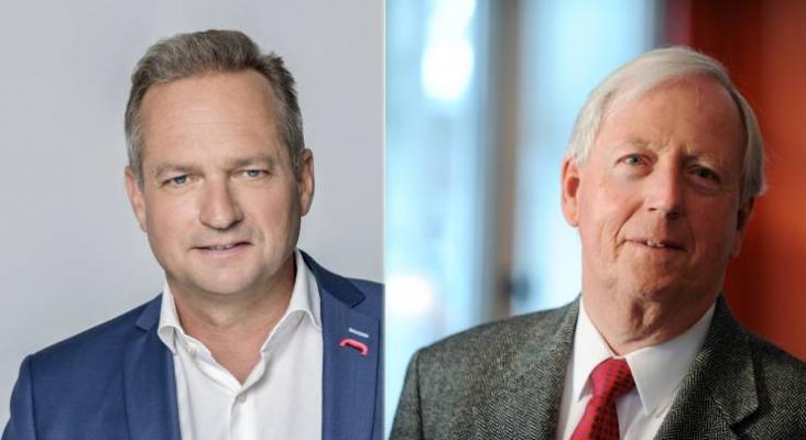 DR Hospitality GmbH & Co KG estará encabezada por Sören Hartmann (izquierda), CEO de DER Touristik Group y miembro de la junta de Rewe Group, y Horst Rahe (derecha), socio de Deutsche Seereederei
