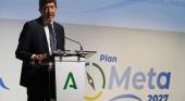 El vicepresidente de la Junta y consejero de Turismo, Regeneración, Justicia y Administración Local, Juan Marín presentó el Plan Meta