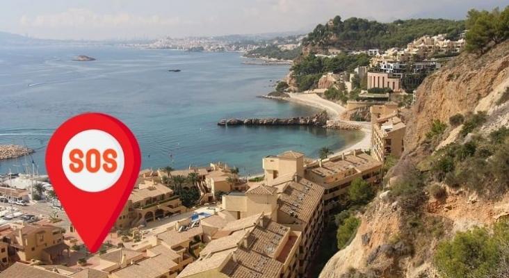 Jávea (Alicante), en peligro de morir de éxito turístico. Icono sacado de flaticon.com