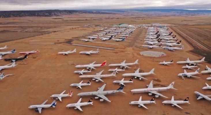 Aeropuerto de Teruel. Foto vía Twitter (@aeropuerteruel)