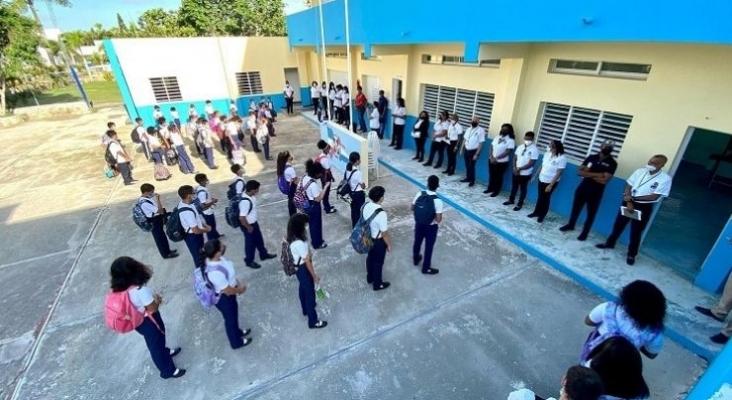 Centro Educativo La Segunda Milla (Bávaro, Rep. Dominicana). Foto Facebook (@centroeducativolasegundamilla)