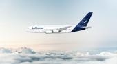 Lufthansa almacena de forma indefinida su último Airbus A380 en Teruel. Foto de un Airbus A380 vía lufthansa.com