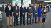 Autoridades durante la presentación del II Congreso Internacional de Turismo de Cruceros de Andalucía