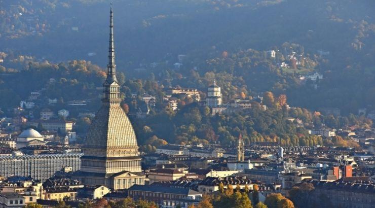 Vistas de la ciudad de Turín