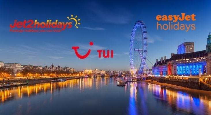 Los touroperadores de Reino Unido pronostican un verano de 2022 superior a 2019. Logos oficiales de touroperadores en Reino Unido