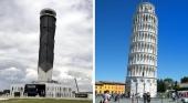 La torre de control del Aeropuerto de Santa Lucía (México) sufre una inclinación de 18 centímetros