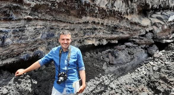 Francisco Javier Dóniz, responsable de Geoturismo de INVOLCAN
