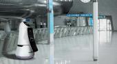 Robot en el aeropuerto de Seul
