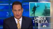 El museo submarino de Lanzarote protagoniza los informativos de la cadena estadounidense NBC
