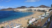 Playa de Las Canteras (Las Palmas de G.C.)   Foto: Mathias Lemm