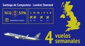 Ryanair apuesta por Galicia como destino invernal