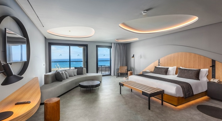 Detalle, habitación Hotel Faro, a Lopesan Collection Hotel