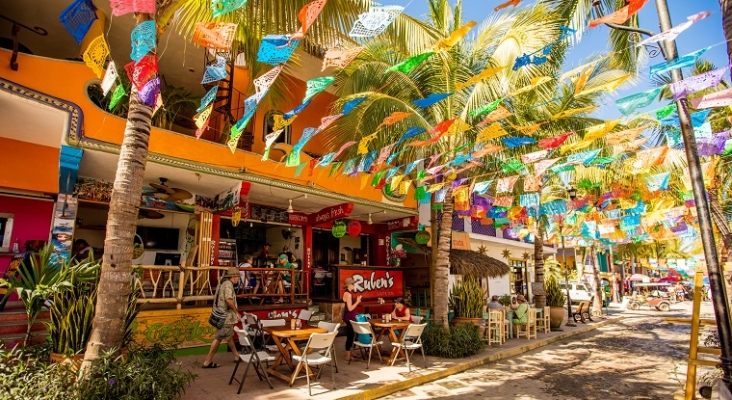 El pueblo mágico de Sayulita, en Riviera Nayarit