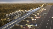 Proyecto del Aeropuerto Internacional Bávaro. Foto de fbarquitectura.com