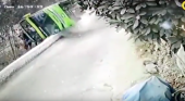 Autobús turístico sufre un accidente en Perú