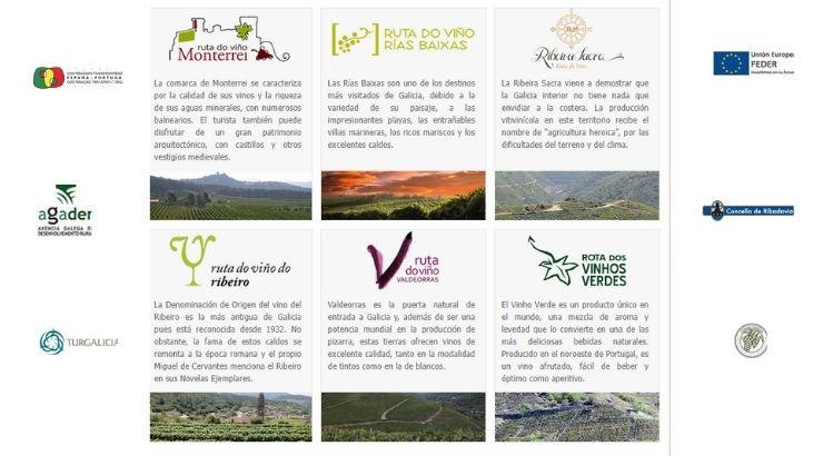 Rutas del Vino de Galicia. Foto propiedad de AGADER