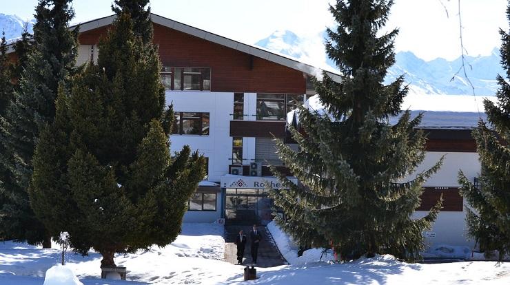 Campus de Les Roches en Crans Montana (Suiza)