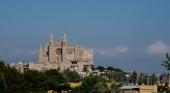 Vista de la Basílica de Santa María en Palma (Mallorca)