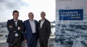 Directiva de la gestora (de izda. a dcha.): José Acosta Matos, Francisco Fernández y Alejandro Páez | Foto: Canarian Hospitality