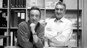 Fallece el arquitecto Luis Alonso, uno de los autores de la Villa de los JJ.OO. de Río 2016. A la izquierda Luis Alonso. A la derecha Sergi Balaguer. Foto propiedad de Alonso | Balaguer © 2021
