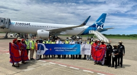 Air Transat recupera la ruta entre el Aeropuerto Internacional de Montreal (Canadá) con el Aeropuerto Internacional de Puerto Plata (República Dominicana).