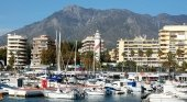 Puerto deportivo en Marbella