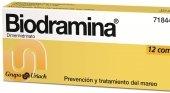 Biodramina comprimidos
