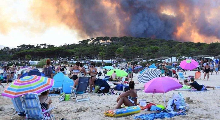 12.000 evacuados por incendios masivos al sur de Francia
