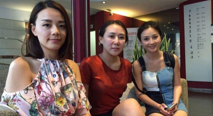 Las tres víctimas del robo