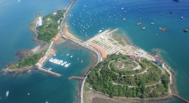 Terminal de cruceros en Panamá