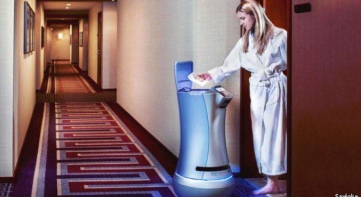 Los robots llegan al sector hotelero