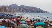 Playa de Levante, en Benidorm
