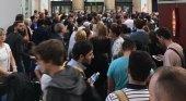 Evacuación de Gare du Nord