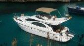 Yate en el sur de Mallorca alquilado a través de Airbnb