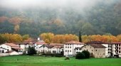 Paisaje rural en Navarra